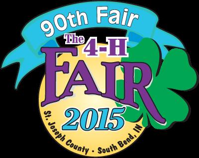 4-H Fair 90 yr logo