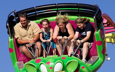 midway thrill rides