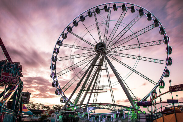 Super Wheel at Miami Dade County Fair
