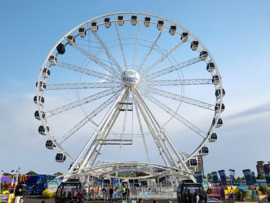 NAME's Super Wheel at the South Carolina State Fair 2019